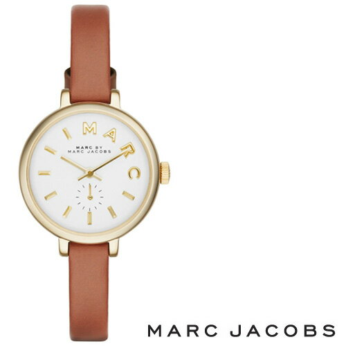【超目玉】【送料無料】MARC BY MARC JACOBS マークバイマークジェイコブス レディース 腕時計 MBM1351 時計 Sally サリー ゴールド×ブラウン【あす楽対応】【RCP】【プレゼント】【ブランド】【セール】