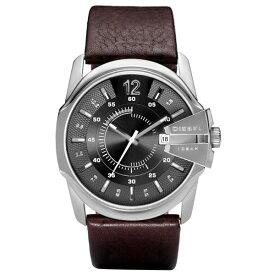【送料無料】DIESEL ディーゼル メンズ 腕時計 時計 DZ1206 MASTER CHIEF マスターチーフ グレー×シルバー×ダークブラウン 男性用【あす楽対応】【ブランド】【プレゼント】【セール】