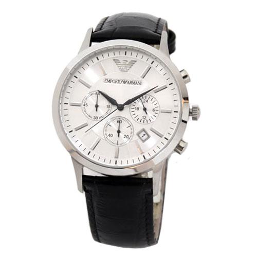 【送料無料】 EMPORIO ARMANI エンポリオアルマーニ メンズ 腕時計 AR2432 エンポリオ・アルマーニ エンポリ アルマーニ 時計 とけい 【あす楽対応】【RCP】【プレゼント】【ブランド】【セール】