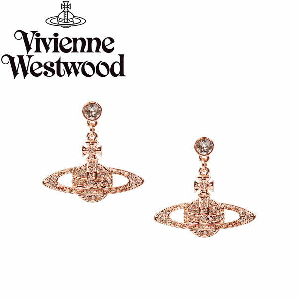 【送料無料】 ヴィヴィアン ウエストウッド ピアス Vivienne Westwood アクセサリー ビビアン MINI BAS RELIEF DROP EARRINGS 724536B-3 724536B/3 ヴィヴィアン・ウエストウッド 【あす楽対応】【RCP】【プレゼント】