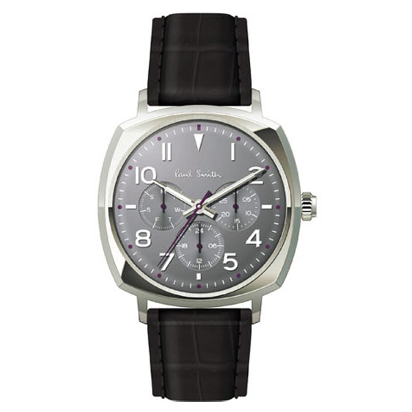 【超目玉】ポールスミス 時計 Paul Smith 腕時計 P10045 Atomic アトミック メンズ ウォッチ グレー×シルバー×ブラック とけい【あす楽対応】【送料無料】【RCP】【プレゼント】【商品入れ替えのため大赤字特価】【セール】