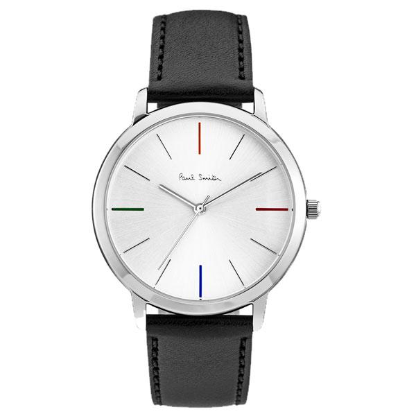 ポールスミス 時計 Paul Smith 腕時計 P10051 MA エムエー メンズ ウォッチ シルバー×ブラック とけい【送料無料】【あす楽対応】【RCP】【プレゼント】【ブランド】【セール】