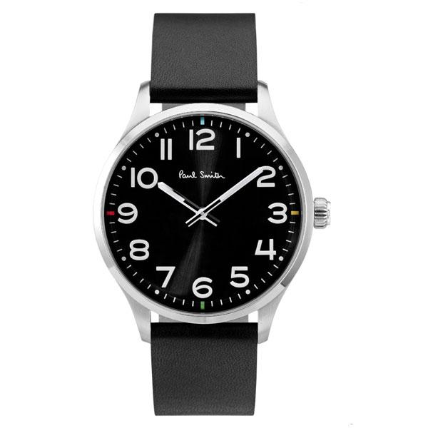 【超目玉】ポールスミス 時計 Paul Smith 腕時計 P10061 Tempo テンポ メンズ ウォッチ ブラック×シルバー×ブラック とけい【あす楽対応】【送料無料】【RCP】【プレゼント】【商品入れ替えのため大赤字特価】【セール】