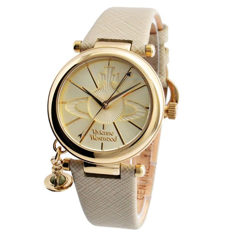 【送料無料】Vivienne Westwood ヴィヴィアン ウエストウッド レディース 腕時計 時計 ビビアン VV006GDCM ヴィヴィアン・ウエストウッド 【あす楽対応】【RCP】【プレゼント】【セール】