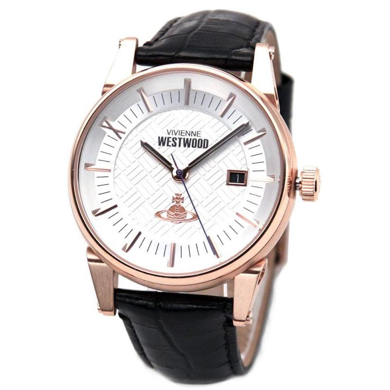 Vivienne Westwood ヴィヴィアン ウエストウッド メンズ 腕時計 時計 とけい ビビアン VV065SWHBK【送料無料】【あす楽対応】【RCP】【プレゼント】【ブランド】【ラッキーシール対応】【セール】
