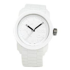【超目玉】【送料無料】DIESEL ディーゼル 腕時計 時計 ユニセックス メンズ レディース DZ1436 Franchise フランチャイズ ラバー ホワイト 白【RCP】【プレゼント】【ブランド】【ラッキーシール対応】【セール】