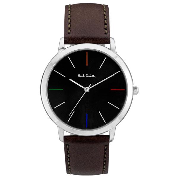 【超目玉】ポールスミス 時計 Paul Smith 腕時計 P10052 MA エムエー メンズ ウォッチ シルバー×ブラック とけい【あす楽対応】【送料無料】【RCP】【プレゼント】【ブランド】【商品入れ替えのため大赤字特価】【セール】