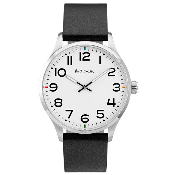【超目玉】ポールスミス 時計 Paul Smith 腕時計 P10065 TEMPO テンポ メンズ ウォッチ ホワイト×ブラック とけい【あす楽対応】【送料無料】【RCP】【プレゼント】【ブランド】【商品入れ替えのため大赤字特価】【セール】