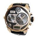 【超目玉】【送料無料】 ディーゼル 時計 DIESEL 腕時計 DZ7261 メンズ クロノグラフ アナデジ 4タイム MR DADDY ミスター ダディ ブラック×ローズゴールド/ とけい ウォッチ