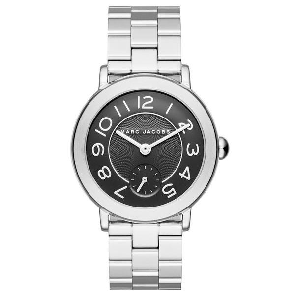 【送料無料】マークジェイコブス 時計 MARC JACOBS 腕時計 レディース MJ3487 RILEY ライリー ブラック×シルバー【あす楽対応】【RCP】【プレゼント】【ブランド】【セール】