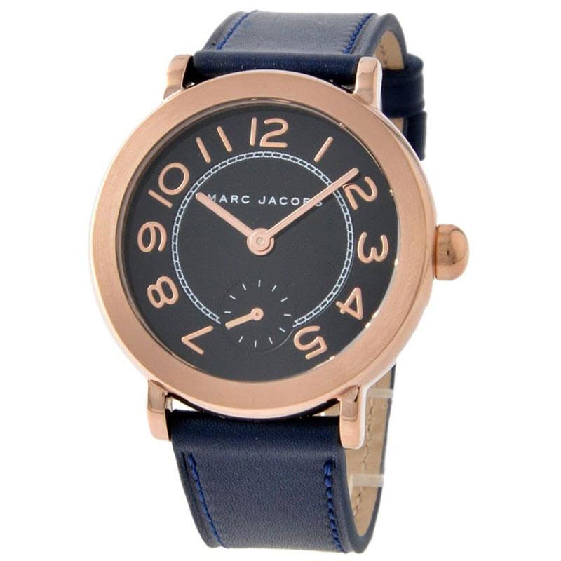 【送料無料】マークジェイコブス 時計 MARC JACOBS 腕時計 ユニセックス レディース MJ1575 時計 Riley ライリー ネイビー×ピンクゴールド【あす楽対応】【RCP】【プレゼント】【ブランド】