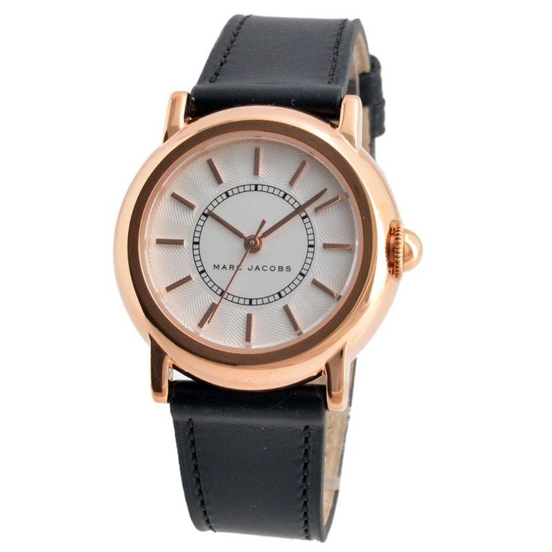 【送料無料】マークジェイコブス 時計 MARC JACOBS 腕時計 レディース MJ1450 COURTNEY コートニー シルバー×ピンクゴールド×ブラック【あす楽対応】【RCP】【プレゼント】【ブランド】【セール】