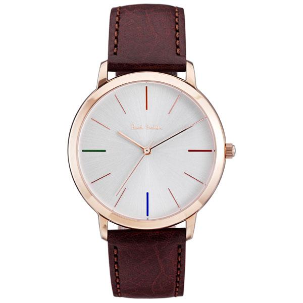 【超目玉】ポールスミス 時計 Paul Smith 腕時計 P10053 MA エムエー メンズ ウォッチ ピンクゴールド×シルバー×ブラウン とけい【送料無料】【あす楽対応】【RCP】【プレゼント】【ブランド】【セール】