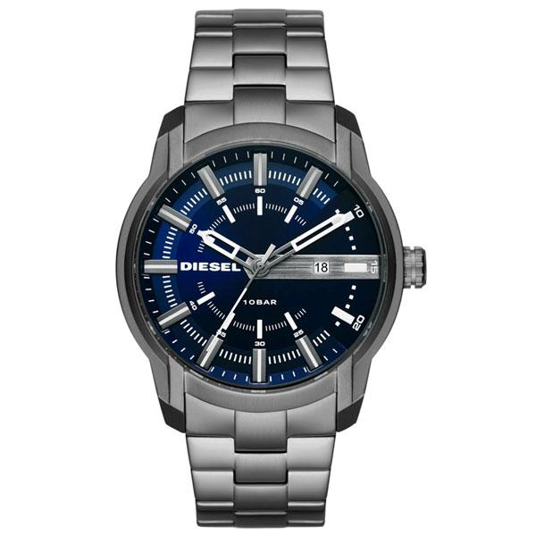 【送料無料】ディーゼル 時計 DIESEL 腕時計 DZ1768 メンズ ネイビー×ガンメタル アームバー とけい ウォッチ 【あす楽対応】【RCP】【プレゼント】【セール】