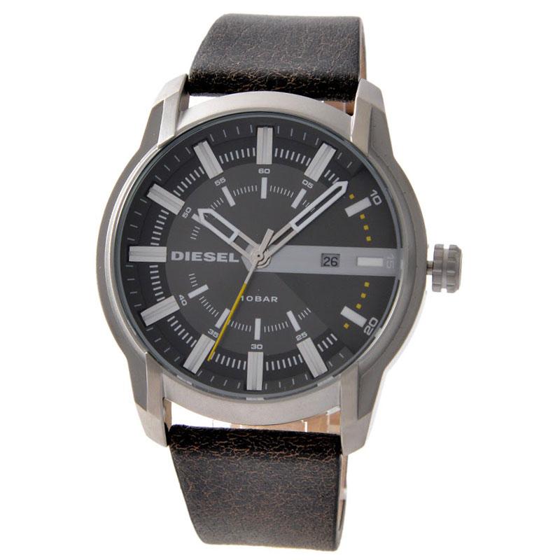 【送料無料】ディーゼル 時計 DIESEL 腕時計 DZ1782 メンズ グレー×シルバー×Dブラウン アームバー とけい ウォッチ 【あす楽対応】【RCP】【プレゼント】【セール】
