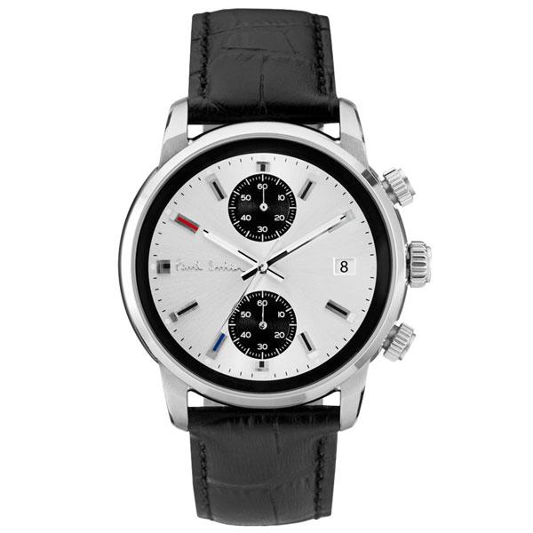 【送料無料】ポールスミス 時計 Paul Smith 腕時計 P10032 BLOCK CHRONO ブロック メンズ ウォッチ シルバー×ブラック とけい【あす楽対応】【RCP】【プレゼント】【ブランド】【セール】