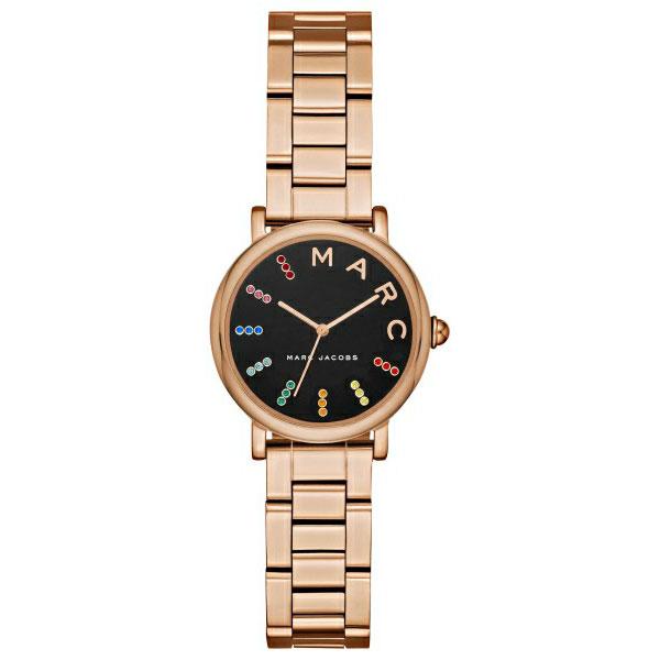 【送料無料】マークジェイコブス 時計 MARC JACOBS 腕時計 レディース MJ3569 時計 Classic 28 クラシック ブラック×ピンクゴールド マルチカラー【あす楽対応】【RCP】【プレゼント】【ブランド】【セール】