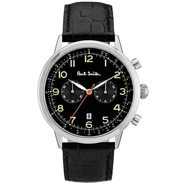 【送料無料】ポールスミス 時計 Paul Smith 腕時計 P10011 メンズ クロノグラフ ウォッチ ブラック×Dグリーン×ブラック とけい【あす楽対応】【RCP】【プレゼント】【ブランド】【セール】
