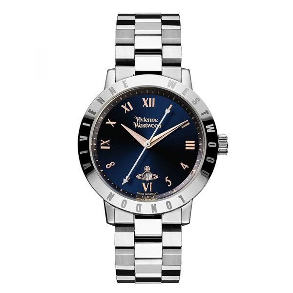 【送料無料】 ヴィヴィアンウエストウッド 時計 ヴィヴィアン 腕時計 レディース Vivienne Westwood VV152NVSL ブルームズベリー ダークネイビー×シルバー ヴィヴィアン・ウエストウッド 【RCP】【プレゼント】【ブランド】【セール】