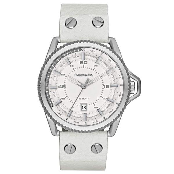 【送料無料】ディーゼル 時計 DIESEL 腕時計 DZ1755 メンズ ホワイト ロールケージ ROLLCAGE とけい ウォッチ 【あす楽対応】【RCP】【プレゼント】【セール】