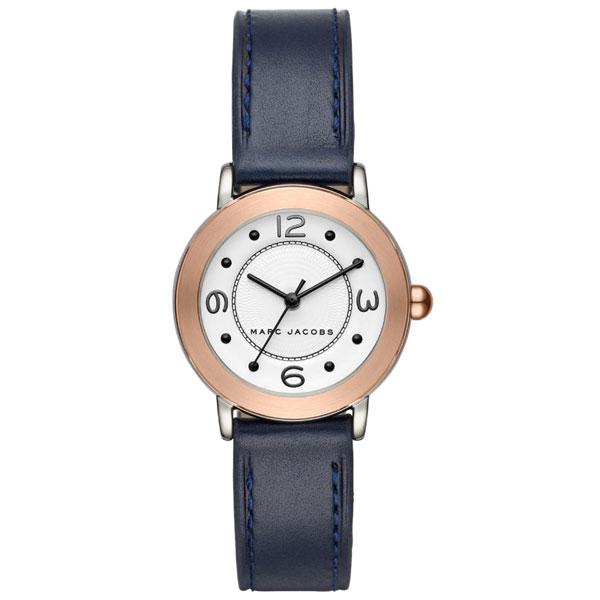 【送料無料】マークジェイコブス 時計 MARC JACOBS 腕時計 ユニセックス レディース MJ1604 時計 Riley 28 ライリー ホワイト×ネイビー×ローズゴールド【あす楽対応】【RCP】【プレゼント】【ブランド】