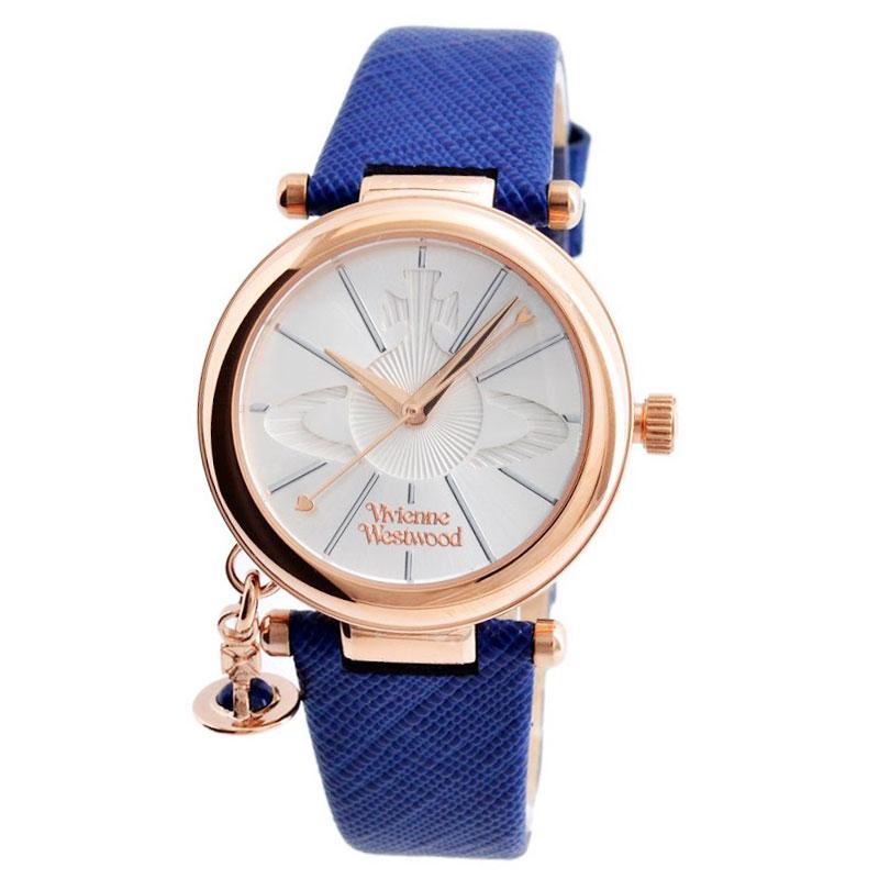 【送料無料】Vivienne Westwood ヴィヴィアン ウエストウッド レディース 腕時計 時計 ビビアン ORB POP オーブ ポップ VV006RSBL シルバー×ピンクゴールド×ブルー ヴィヴィアン・ウエストウッド 【あす楽対応】【RCP】【プレゼント】