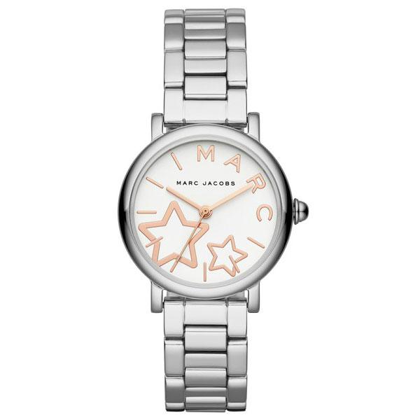 【送料無料】マークジェイコブス 時計 MARC JACOBS 腕時計 レディース MJ3591 時計 Classic 28 クラシック ホワイト×シルバー【あす楽対応】【RCP】【プレゼント】【ブランド】