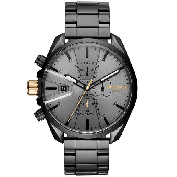 【送料無料】 ディーゼル 時計 DIESEL 腕時計 メンズ DZ4474 MS9 エムエスナイン クロノグラフ ガンメタル とけい ウォッチ 【あす楽対応】【RCP】【プレゼント】【ブランド】【ラッキーシール対応】