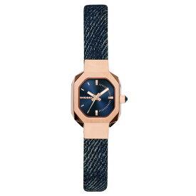 【送料無料】 ディーゼル 時計 DIESEL 腕時計 DZ5569 レディース ネイビー×ピンクゴールド×デニムベルト BAD B とけい ウォッチ 【あす楽対応】【RCP】【プレゼント】【ブランド】【ラッキーシール対応】