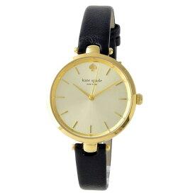 【送料無料】ケイトスペード 腕時計 レディース 時計 kate spade 1YRU0811 Holland ホランド 女性用 ゴールド×ブラック【あす楽対応】【RCP】【プレゼント】【ブランド】【セール】