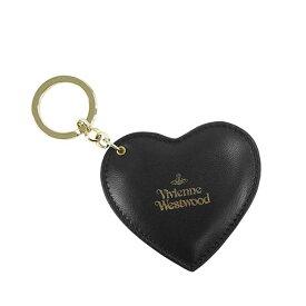 【送料無料】Vivienne Westwood ヴィヴィアン ウエストウッド ハート キーホルダー キーリング バッグ チャーム キーケース ビビアン 82030027 HEART BLACK【あす楽対応】【プレゼント】【ブランド】