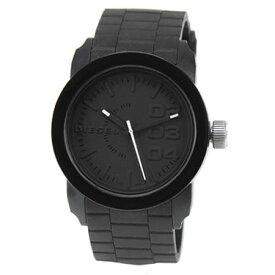 【送料無料】DIESEL ディーゼル 腕時計 時計 ユニセックス メンズ レディース DZ1437 Franchise フランチャイズ ラバー ブラック 黒【あす楽対応】【ブランド】【プレゼント】【セール】