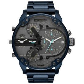 【送料無料】ディーゼル 時計 DIESEL 腕時計 DZ7414 メンズ Mr Daddy ミスターダディ グレー×Dブルー クロノグラフ とけい ウォッチ【あす楽対応】【ブランド】【プレゼント】【セール】