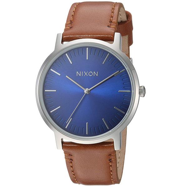 【送料無料】NIXON ニクソン メンズ 腕時計 時計 THE PORTER LEATHER ポーターレザー A10582694 BLUE OMBRE/SADDLE【あす楽対応】【プレゼント】【ブランド】【ラッキーシール対応】【セール】