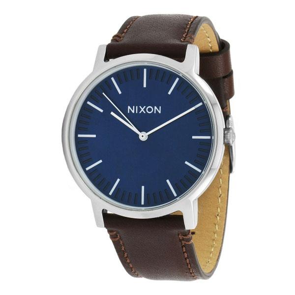 【送料無料】NIXON ニクソン メンズ 腕時計 時計 THE PORTER LEATHER ポーターレザー A1058879 NAVY / BROWN【あす楽対応】【プレゼント】【ブランド】【ラッキーシール対応】【セール】