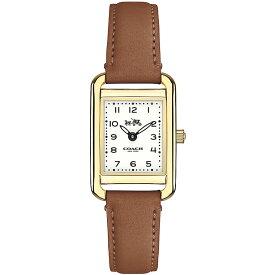 【送料無料】COACH コーチ レディース 腕時計 時計 14502297 THOMPSON トンプソン オフホワイト×ゴールド×ブラウン こーち 【あす楽対応】【RCP】【プレゼント】【ブランド】【ラッキーシール対応】【セール】