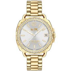 【送料無料】COACH コーチ レディース 腕時計 時計 14502589 Tatum テイタム シルバー×ゴールド こーち 【あす楽対応】【RCP】【プレゼント】【ブランド】【ラッキーシール対応】【セール】