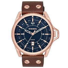 【送料無料】ディーゼル 時計 DIESEL 腕時計 DZ1746 メンズ ROLLCAGE ロールケージ ネイビー×ブラウン とけい ウォッチ 【あす楽対応】【RCP】【プレゼント】【ブランド】