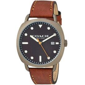 【送料無料】COACH コーチ メンズ 腕時計 時計 14602140 TATUM テイタム ブラック×グレー×ブラウン こーち 【あす楽対応】【RCP】【プレゼント】【ブランド】【ラッキーシール対応】【セール】