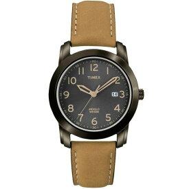 【送料無料】TIMEX タイメックス 腕時計 時計 メンズ レディース T2P133 ELEVATED CLASSICS エレベイテッド クラシック ブラック×ブラウン とけい【あす楽対応】【ブランド】【プレゼント】【ラッキーシール対応】【セール】
