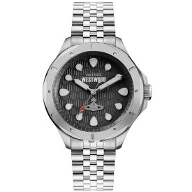 【送料無料】Vivienne Westwood ヴィヴィアン ウエストウッド メンズ 腕時計 時計 VV219SL BLACKWALL ブラック×シルバー とけい ビビアン【あす楽対応】【プレゼント】【ブランド】【セール】