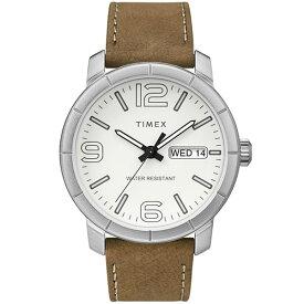 【送料無料】TIMEX タイメックス 腕時計 時計 メンズ TW2R64100 MOD モッド ホワイト×ブラウン とけい【あす楽対応】【ブランド】【プレゼント】【ラッキーシール対応】