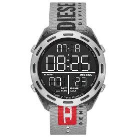 【送料無料】ディーゼル 時計 DIESEL 腕時計 DZ1894 メンズ CRUSHER クラッシャー ブラック×グレー デジタル クロノグラフ ウォッチ ジョギング マラソン とけい【あす楽対応】【プレゼント】【ブランド】【セール】