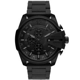 【送料無料】ディーゼル 時計 DIESEL 腕時計 DZ4486 メンズ MEGA CHIEF メガチーフ クロノグラフ オールブラック ラバーベルト とけい ウォッチ 【あす楽対応】【RCP】【プレゼント】【ブランド】