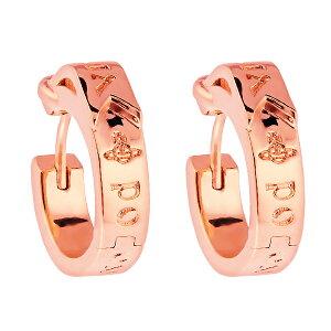 【送料無料】ヴィヴィアン ウエストウッド ピアス Vivienne Westwood アクセサリー ビビアン BOBBY SMALL EARRINGS PINK GOLD 62030032-G002 ピンクゴールド ヴィヴィアン・ウエストウッド ビビアン【あす楽対