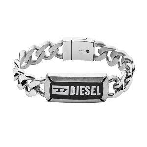 【送料無料】DIESEL ディーゼル ブレスレット DX1242040 ブレス アクセサリー メンズ シルバー【あす楽対応】【プレゼント】【ブランド】【セール】