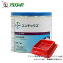 プロ用殺鼠剤 エンドックス 1kg缶・ラットレイ[毒餌皿]20枚セット クマネズミ ドブネズミ ハツカネズミ駆除 [北海道・…