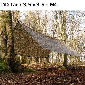 【お買い物マラソン】【ポイント10倍】 タープ DDタープ DD Tarp 3.5x3.5 - MC マルチカム 迷彩