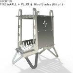 焚火台SPORTESスポルテスアウトドアツールズファイヤーウォールプラスウインドブレード(2枚組)FIREWAALL+PLUS&WindBlades(Kitof2)