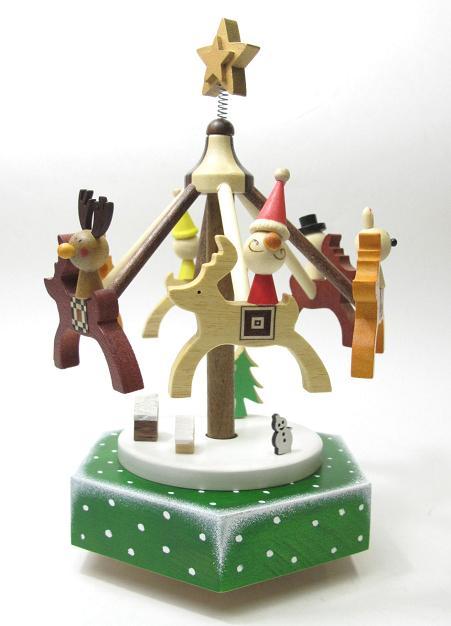 クリスマスナイト(からくりオルゴール)【楽ギフ_包装選択】